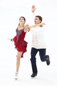Ekaterina Bobrova & Dmitri Soloviev (RUS), NOVEMBER 29, 2015 - Figure Skating : ISU Grand Prix of Figure Skating 2015 NHK Trophy Ice Dancing Free Dance at Big Hat in Nagano, Japan. (Photo by AFLO)